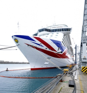Britannia officially handed over to P&O Cruises