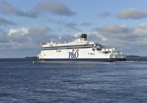 P&O Ferries' Spirit of France launches in English Channel