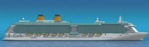P&O Cruises unveils £489m mega cruise ship