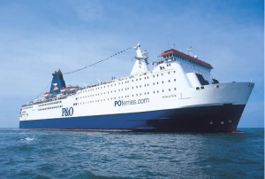 P&O Ferries takes delivery of Spirit of France