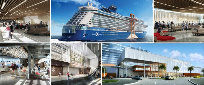 Celebrity Cruises unveils designs for new Terminal 25