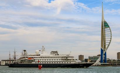 Portsmouth welcomes first international cruise in seven months
