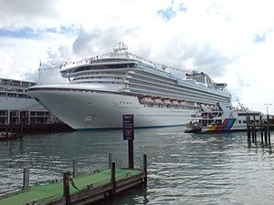 Sapphire Princess begins service after extensive makeover