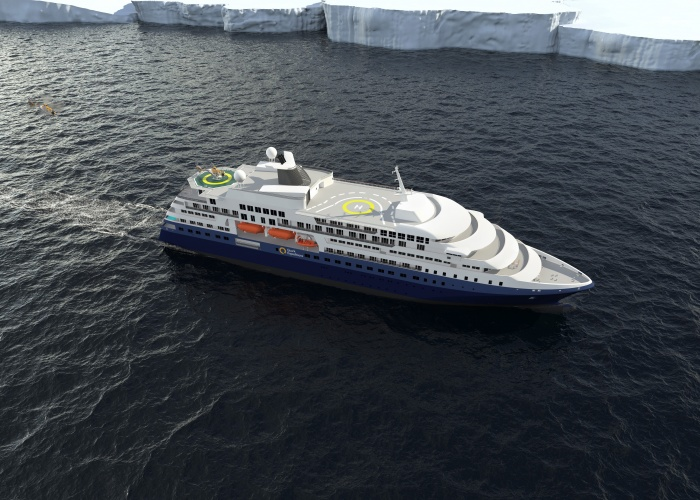 Quark Expeditions unveils plans for new expedition ship