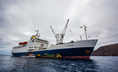RMS St Helena reprieved for another year