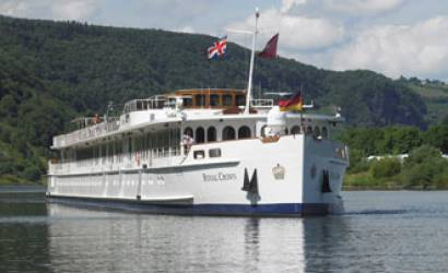 Luxury River Cruiser Royal Crown launches with eWaterways