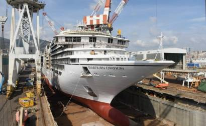 Seabourn Ovation completes sea trials ahead of April launch