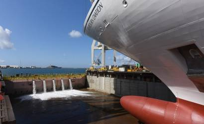 Launch ceremony for Seabourn Ovation in Italy
