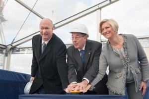 Keel laying ceremony for Seabourn Ovation takes place ahead of 2018 launch