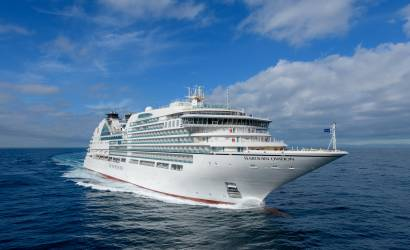 Seabourn Ovation presented during Fincantieri ceremony