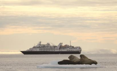 Silver Explorer headed to the Northeast Passage