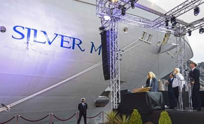 Silversea christens Silver Muse in Monaco