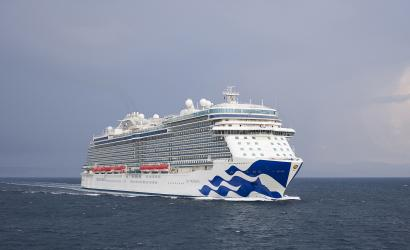 Sky Princess prepares for debut cruise in Mediterranean