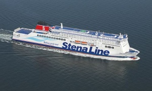 New Stena Line superfast ship arrives in Loch Ryan port