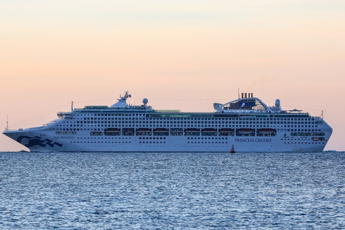 Sun Princess arrives in Southampton for first time
