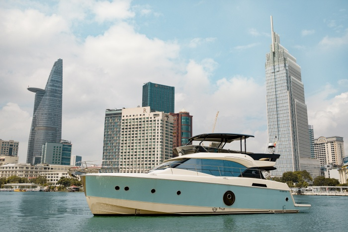 Reverie Saigon launches luxury yacht