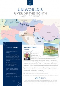 Uniworld launches River of the Month campaign to agents