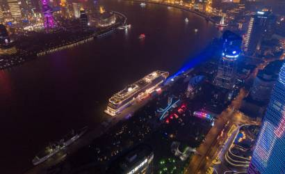 Viking Sun officially named in Shanghai, China