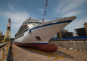 Viking Cruises floats out Viking Star ahead of launch