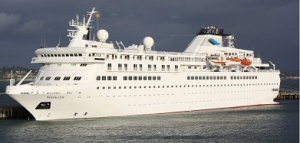 New cruise ship arrives in Portland