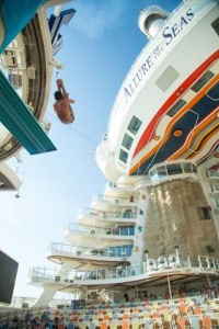 Tom Daley takes plunge on Allure of the Seas