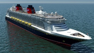 Disney Cruise Line welcomes newest ship