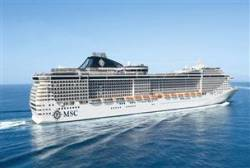 MSC Divina now afloat