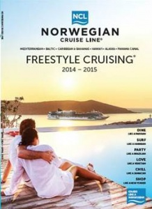 Norwegian Cruise Line launches 2014-15 Freestyle Cruising® brochure