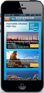 Norwegian Cruise Line launches revolutionary app