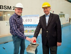 First steel cut for Norwegian Escape