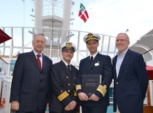 Meyer Werft delivers Norwegian Getaway