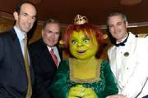 Shrek's Princess Fiona names Royal Caribbean Internationals Allure of the Seas