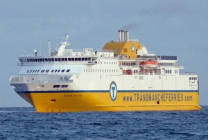Seven Sisters sets sail for DFDS Seaways