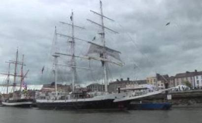 Majestic tall ships sail Into Ireland's party of the Year