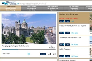 Voyages of Discovery unveils new web TV channel