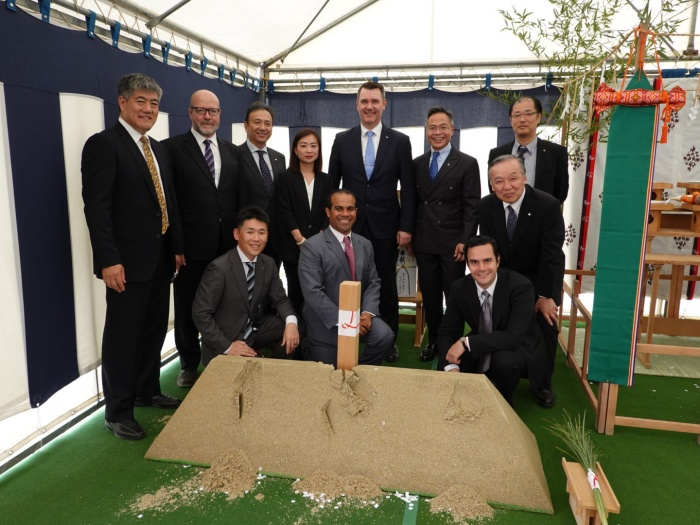 Carnival breaks ground on Sasebo terminal in Japan
