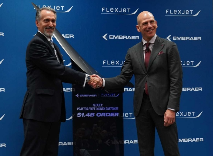 Flexjet signs $1.4bn deal to become Praetor launch customer