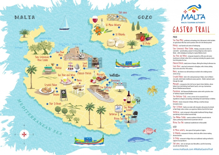 Malta Tourism Authority launches new gastro trail to agents