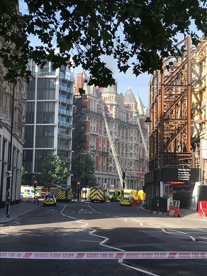 Mandarin Oriental Hyde Park, London, to partially reopen following fire