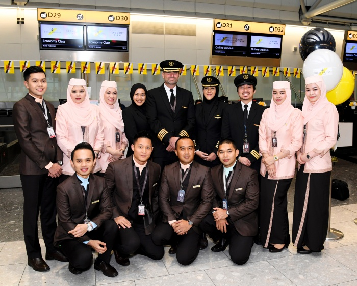 Royal Brunei Airlines launches first ever direct London