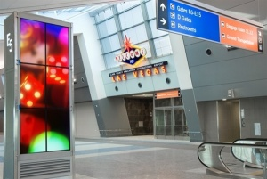 First post-9/11 US airport terminal opens in Las Vegas