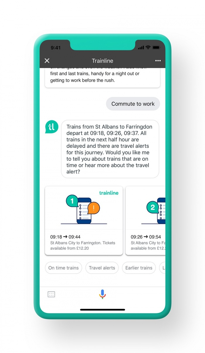 Trainline launches first artificial intelligence-powered voice disruption rail alerts