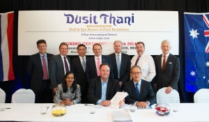 Plans unveiled for Dusit Thani Brookwater Golf & Spa Resort at First Residence