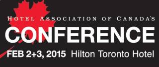 Hotel Association of Canada's National Conference 2015