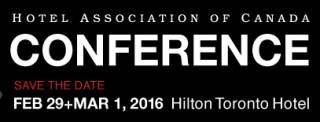 Hotel Association of Canada's National Conference 2016