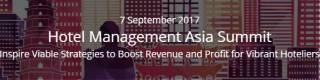Hotel Management Asia Summit 2017