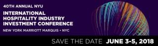 NYU International Hospitality Industry Investment Conference 2018
