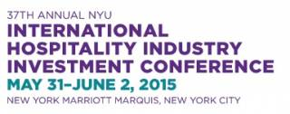 NYU International Hospitality Industry Investment Conference 2015