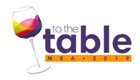 TO THE TABLE MEA 2018