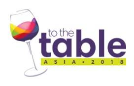 TO THE TABLE Asia 2018